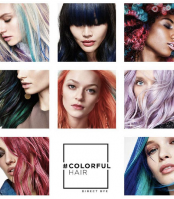 It's arrived, L'Oréal's Colourful hair!